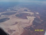 Salt Lake photographed on the way up to Kununurra